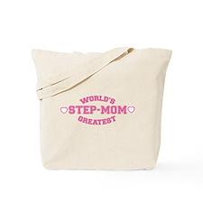 World's Greatest Step-Mom Tote Bag