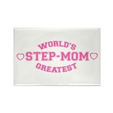World's Greatest Step-Mom Rectangle Magnet