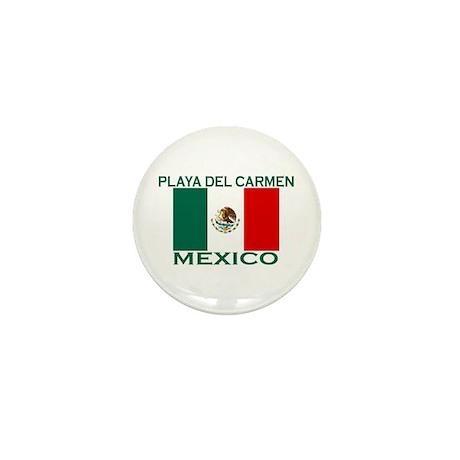 Playa Del Carmen, Mexico Mini Button
