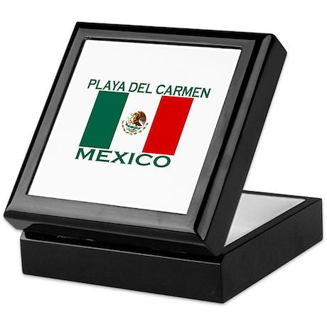 Playa Del Carmen, Mexico Keepsake Box