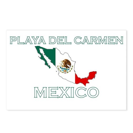 Playa Del Carmen, Mexico Postcards (Package of 8)
