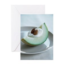 Healthy breakfast Greeting Card