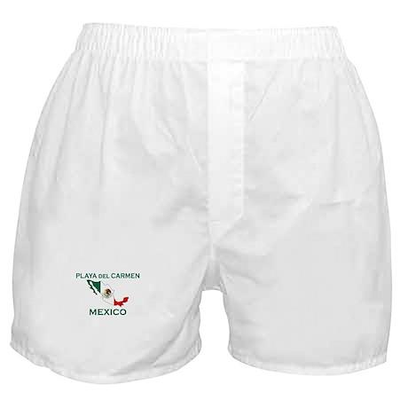 Playa Del Carmen, Mexico Boxer Shorts