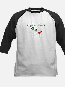 Playa Del Carmen, Mexico Kids Baseball Jersey