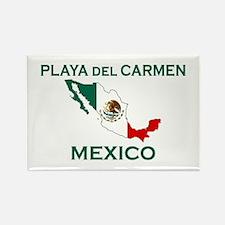 Playa Del Carmen, Mexico Rectangle Magnet