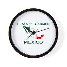 Playa Del Carmen, Mexico Wall Clock