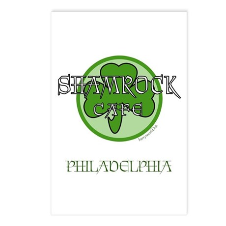 Shamrock Cafe-Philly Postcards (Package of 8)