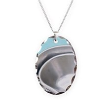 0 Necklace Oval Charm
