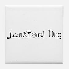 Junkyard Dog Tile Coaster