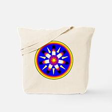 EAGLE FEATHER MEDALLION Tote Bag