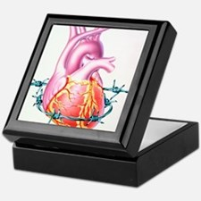 Heart disease Keepsake Box