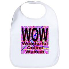 WOW: Wonderful Online Women Bib