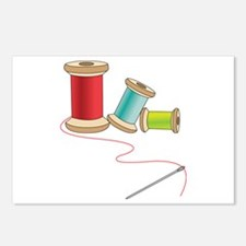 Thread and Needle Postcards (Package of 8)