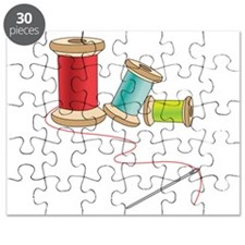 Thread and Needle Puzzle