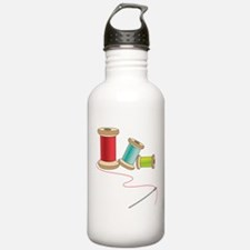 Thread and Needle Water Bottle