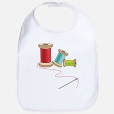 Thread and Needle Bib