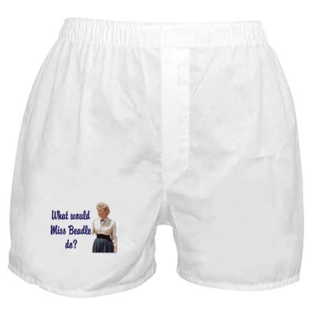What would Miss Beadle do? Boxer Shorts