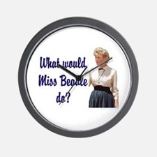 What would Miss Beadle do? Wall Clock