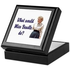 What would Miss Beadle do? Keepsake Box