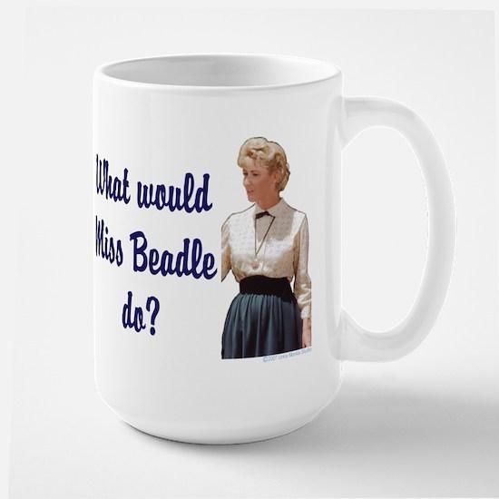 What would Miss Beadle do? Large Mug