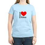 I Love Dickens Women's Light T-Shirt