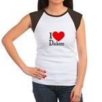 I Love Dickens Women's Cap Sleeve T-Shirt