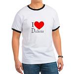 I Love Dickens Ringer T