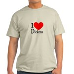 I Love Dickens Light T-Shirt
