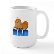 Orange Pomeranian Dad Mug