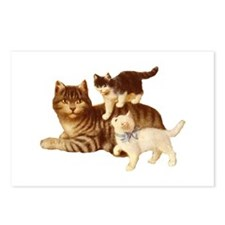 Victorian Cats Postcards (Package of 8)