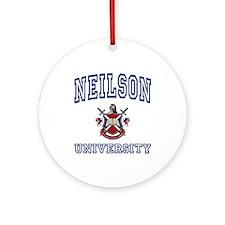 NEILSON University Ornament (Round)