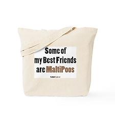 MaltiPoo dog Tote Bag