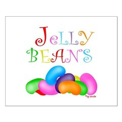Colorful Jelly Beans Posters