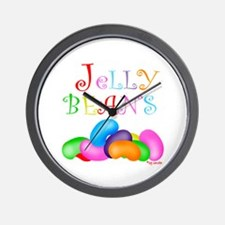 Colorful Jelly Beans Wall Clock