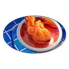Heart surgery, artwork Decal