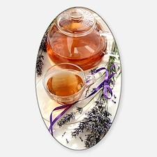 Herbal tea and lavender Decal