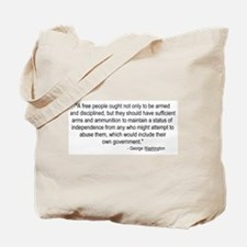 Washington: A Free People Tote Bag