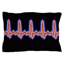 Heartbeat trace Pillow Case