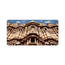 Jain temple in Jaisalmer fo Aluminum License Plate