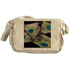 HeLa culture cells Messenger Bag