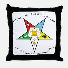 Eastern Star Matthew 2:2 Throw Pillow