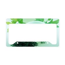 Herbs License Plate Holder