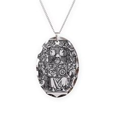 Hermes Trismegistus, Classical Necklace Oval Charm