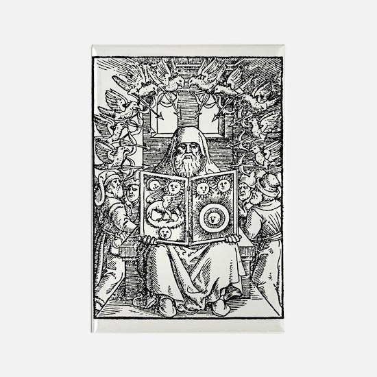 Hermes Trismegistus, Classical go Rectangle Magnet