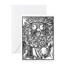 Hermes Trismegistus, Classical god Greeting Card