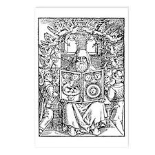 Hermes Trismegistus, Clas Postcards (Package of 8)
