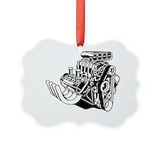 Hemi Hotrod Engine Ornament