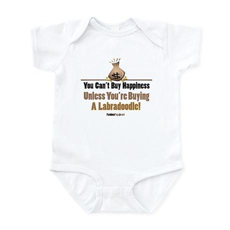 Labradoodle dog Infant Bodysuit