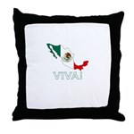 Viva! Mexico Throw Pillow