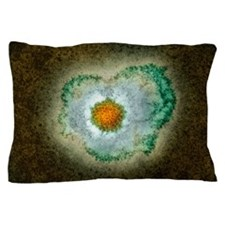 Herpes virus particle, TEM Pillow Case
